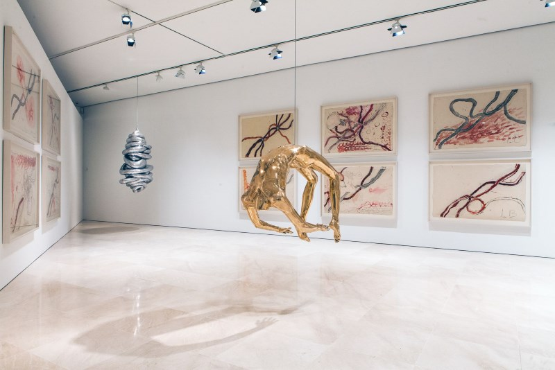 Museo Picasso Malaga.Louise Bourgeois I Have Been To Hell And Back Museo Picasso Malaga