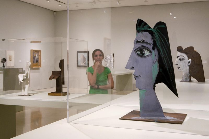 Museo Picasso Malaga.Picasso S Late Sculpture Woman The Collection In Context Museo