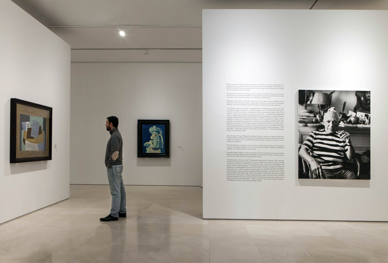 Museo Picasso Malaga.Day Of Andalusia 2017 Museo Picasso Malaga