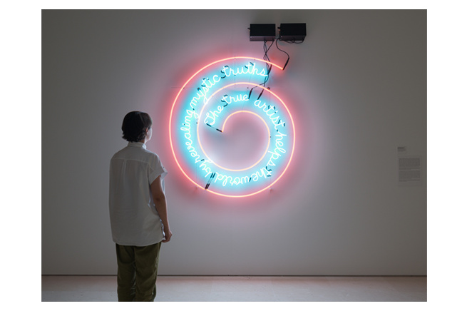 Bruce Nauman Rooms Bodies Words Museo Picasso Malaga
